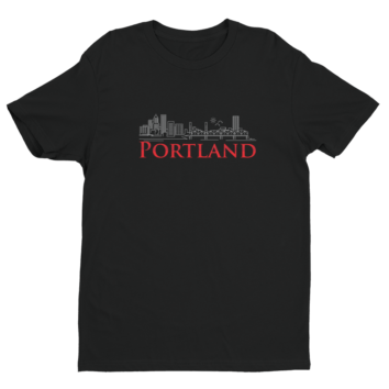 Portland T Shirt - Black - 2