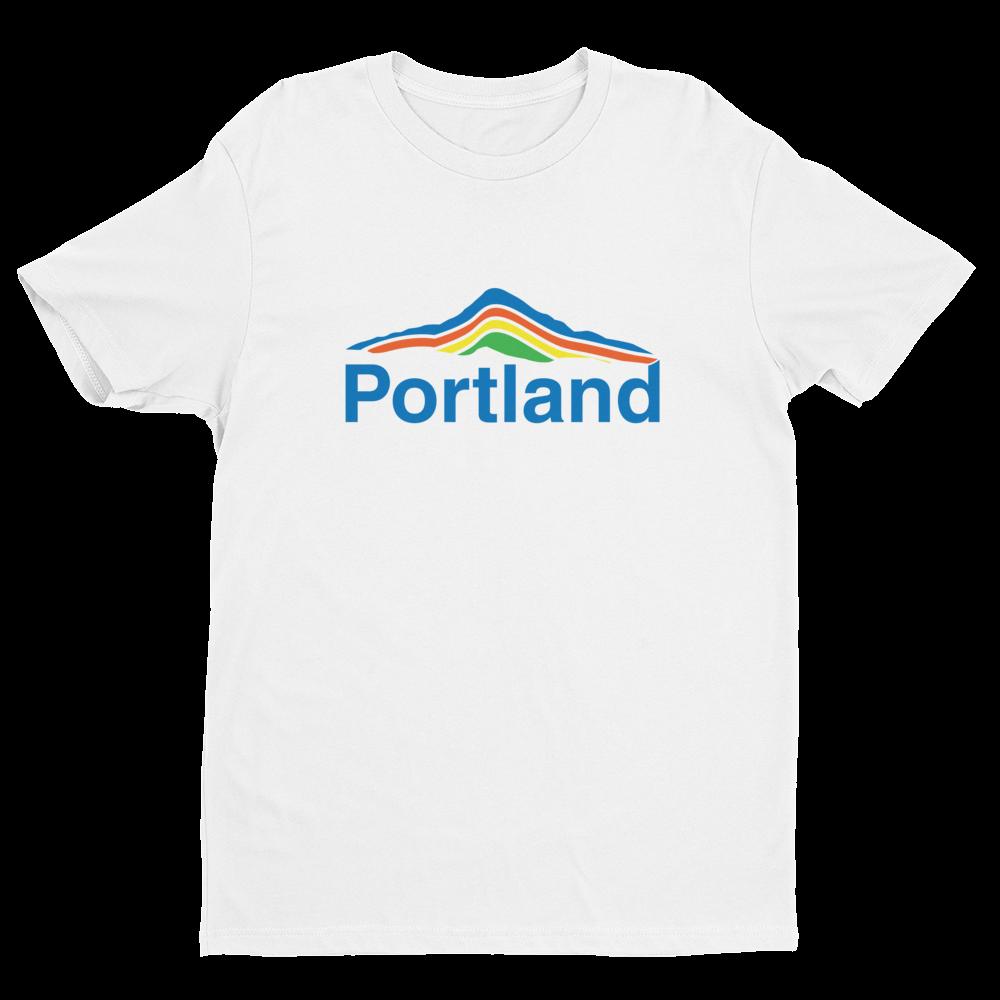 Portland Mt Hood T Shirt - White