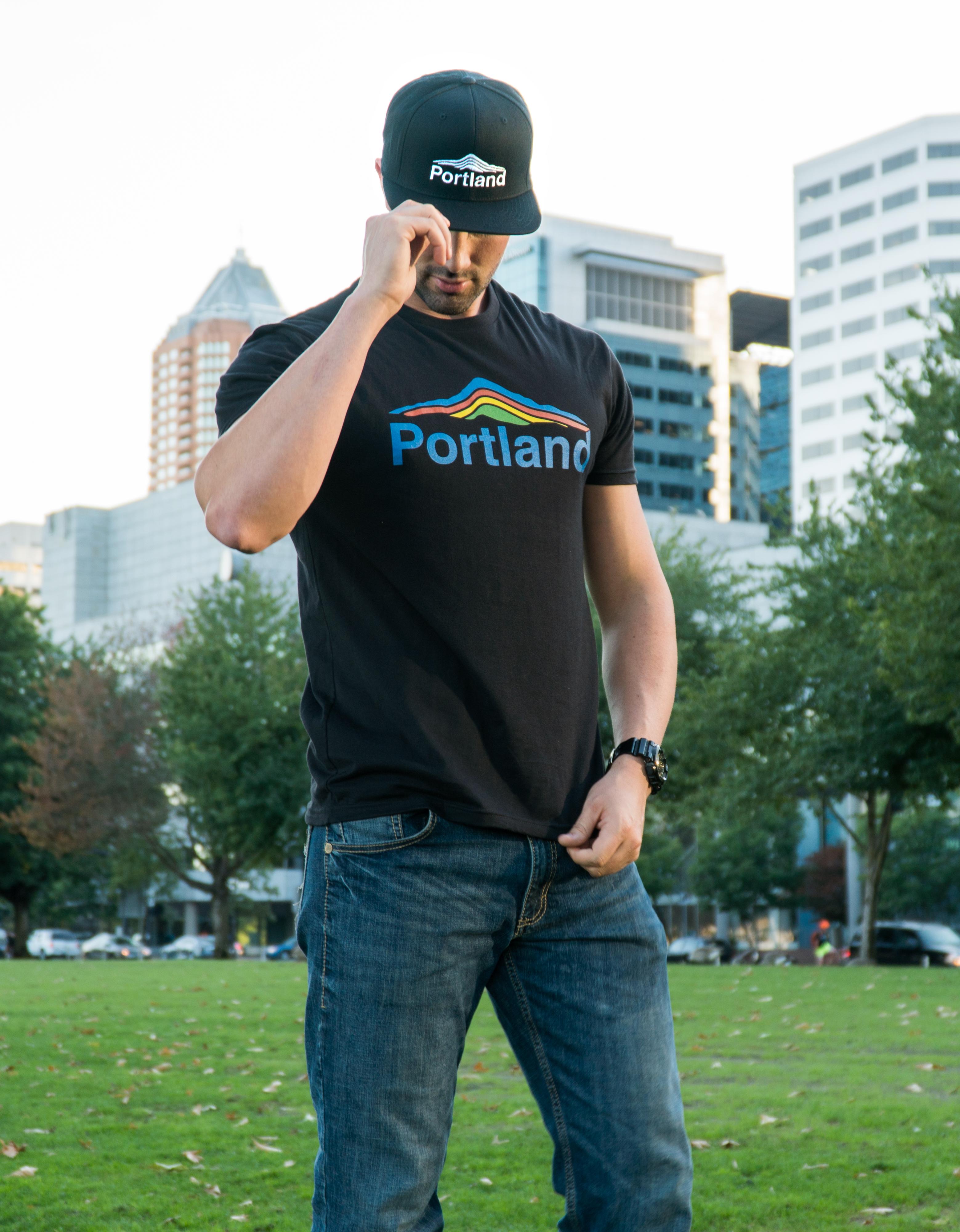 Portland Mt Hood - Unisex T Shirt