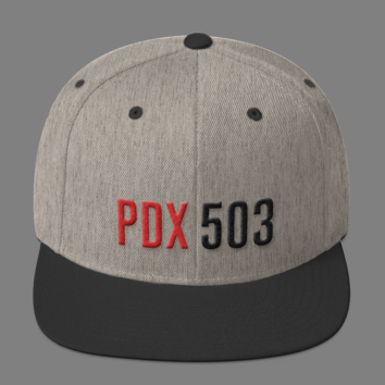 PDX 503 Hat - Grey/Black