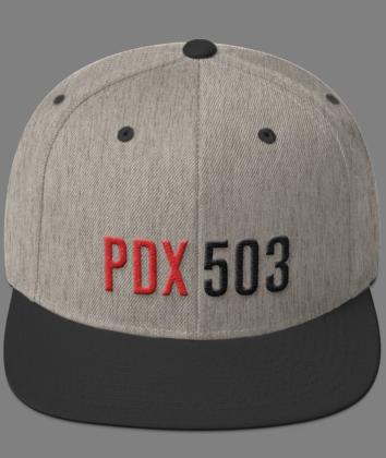 PDX 503 Hat - Grey/Black
