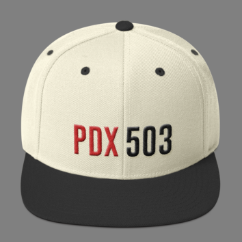 PDX 503 Hat - White/Black
