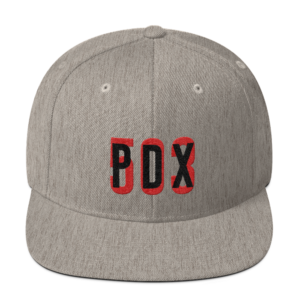 PDX 503 - Heather Grey - Hat