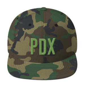 PDX 503 Hat - Green Camo