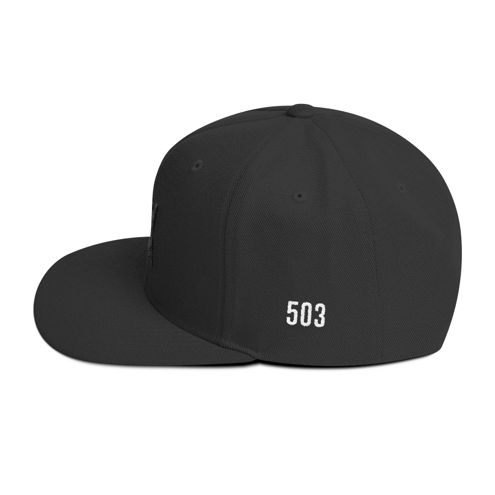 PDX 503 Hat - Side View