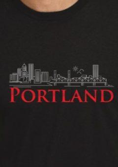 Portland T Shirt - Black