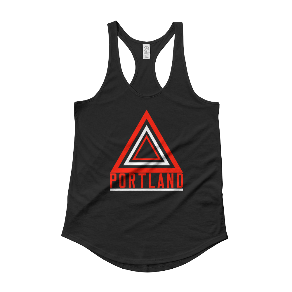 Women's - Portland Now - Shirttail Tank