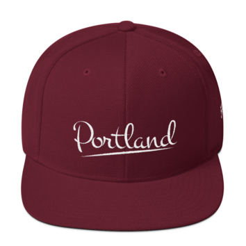 Portland 503 - Hat - Maroon