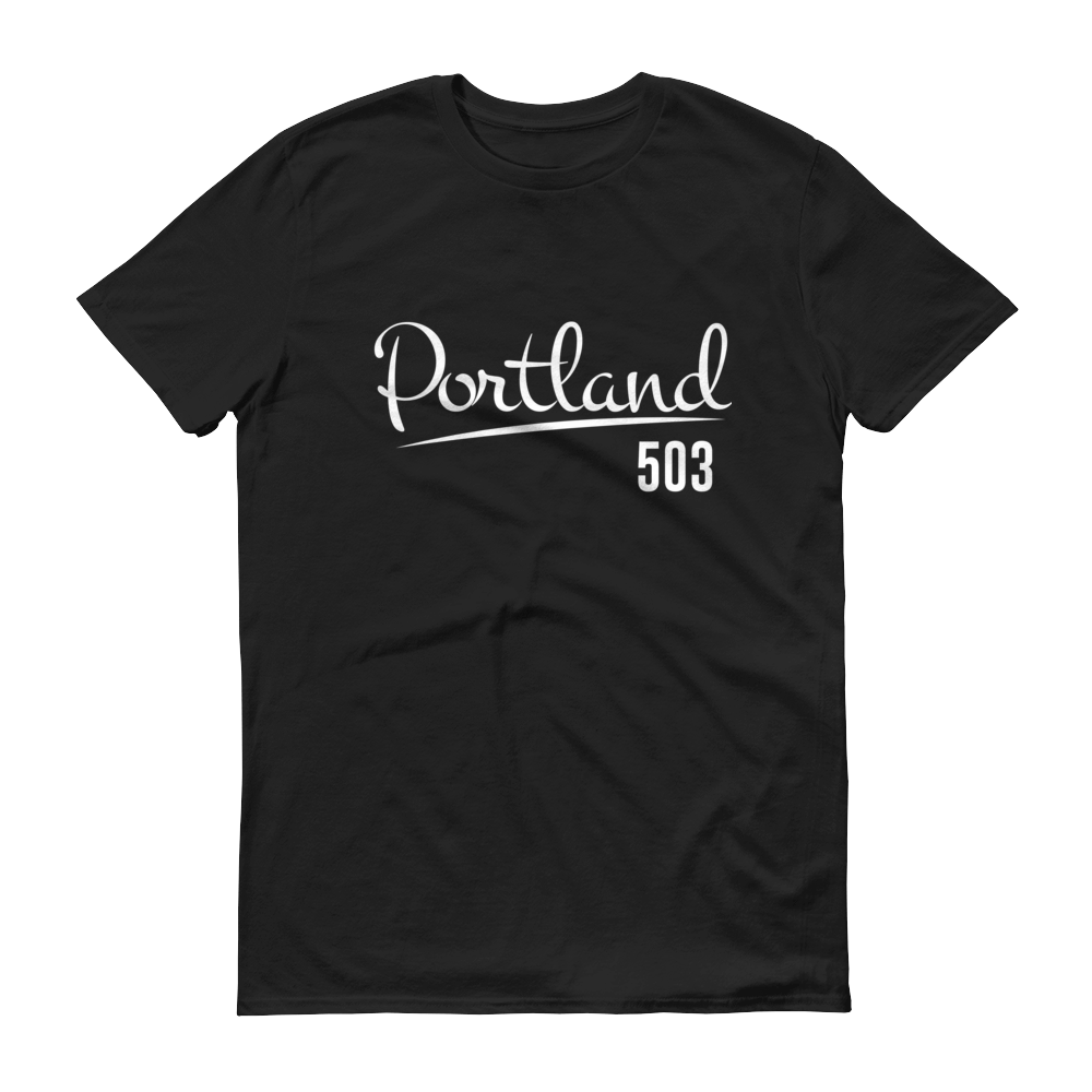 Portland 503 - T Shirt - Black