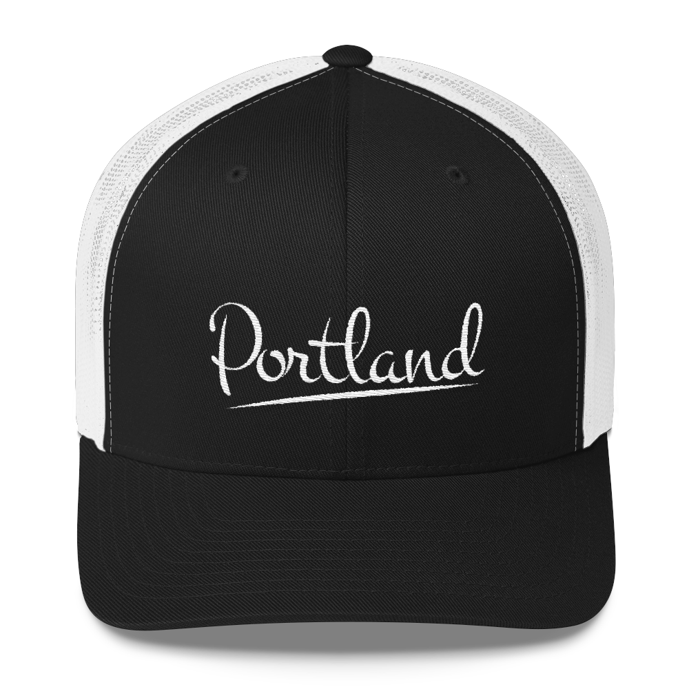 Portland - Retro Trucker Hat