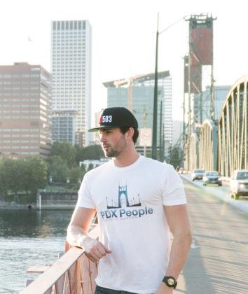 PDX People - St Johns Bridge - T Shirt