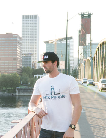 PDX People - St Johns Bridge - T Shirt