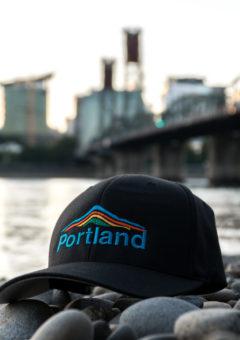 Portland Mt Hood - Hat - Flexfit