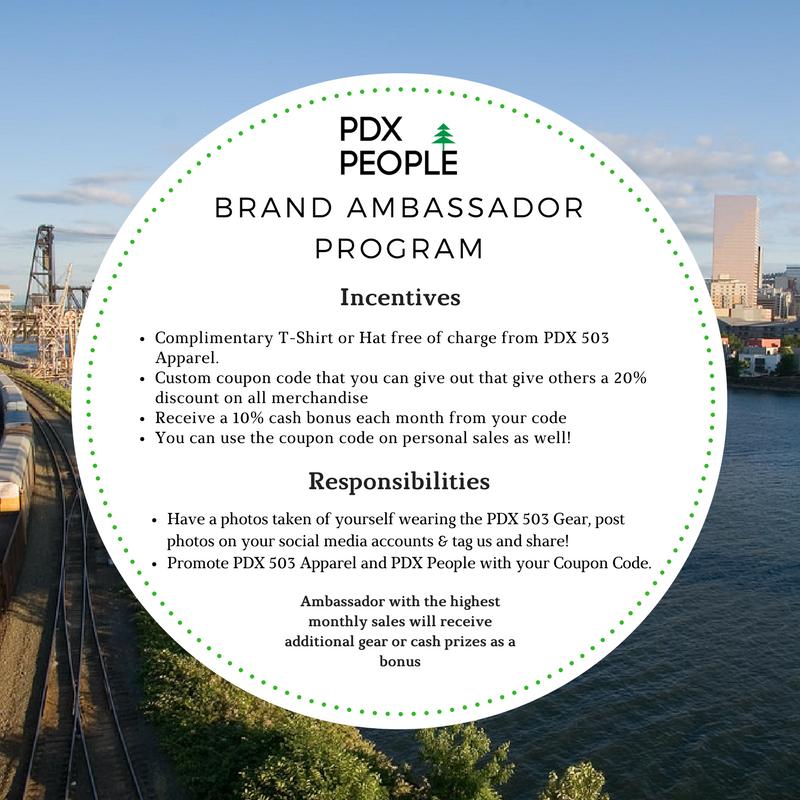 PDX People Brand Ambassador Program