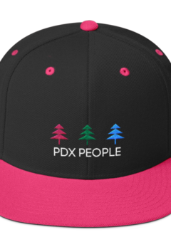 PDX People - 3 Tree - Pink