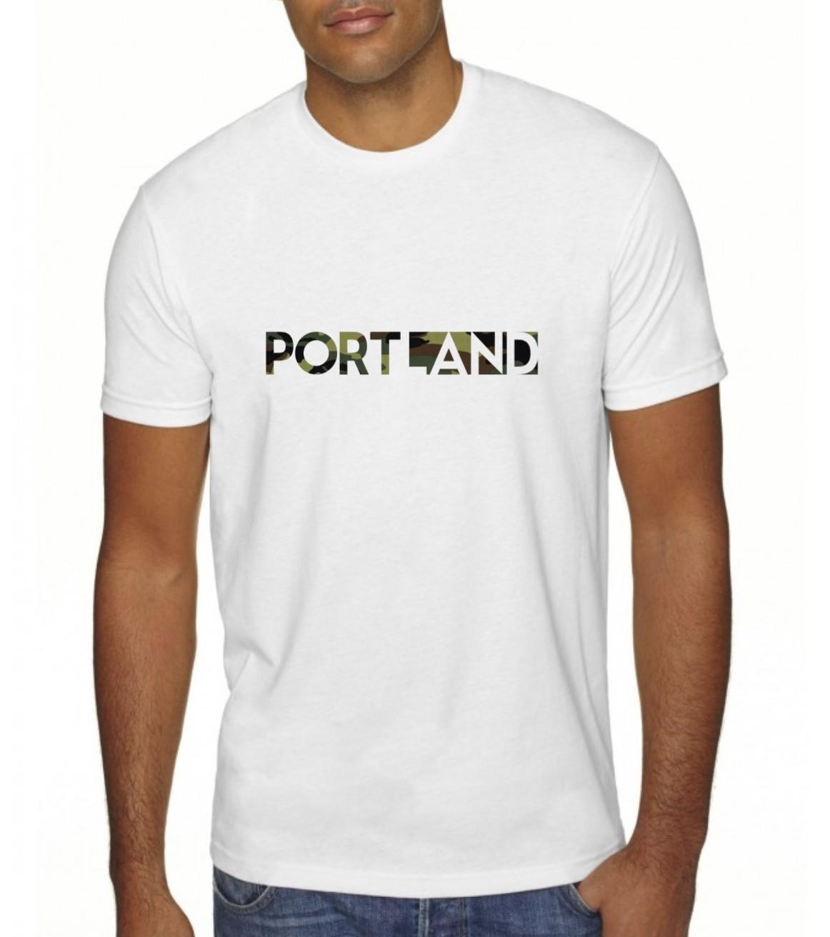Portland Happening - T Shirt - Camo