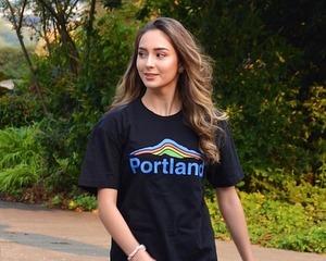 Portland Mt Hood - T Shirt