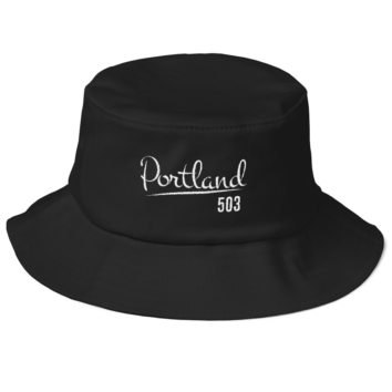PDX 503 Flexfit Bucket Hat - Black