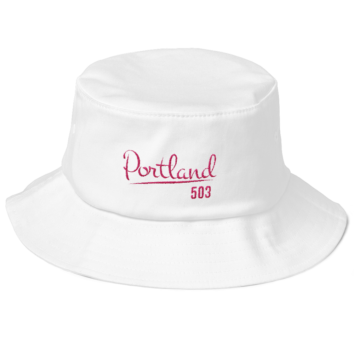 Portland 503 Flexfit Bucket Hat - White
