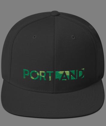 Portland Happening - Camo/Black - Hat