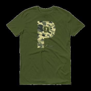 PDX Oregon - Camo - T Shirt - Green