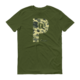 PDX Oregon - Camo - T Shirt - Green