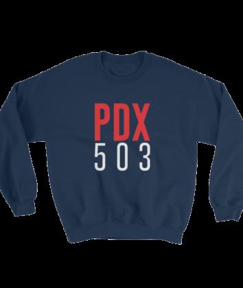 PDX 503 Sweatshirt - Navy
