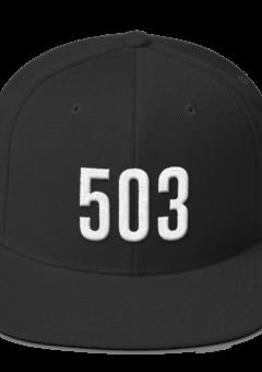 503 Portland Hat - Black