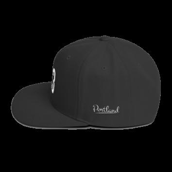 503 Portland Hat - Black - Side
