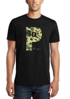 PDX Oregon - Camo - T Shirt
