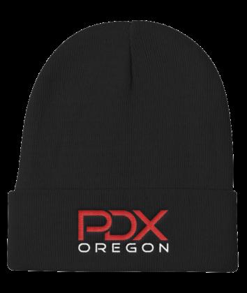 PDX Oregon Beanie - Black