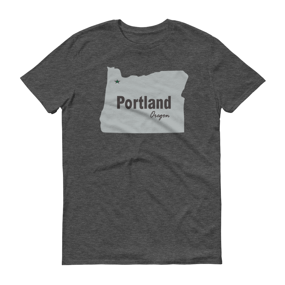 PDX Cities - T Shirt - Portland