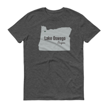 PDX Cities - T Shirt - Lake Oswego