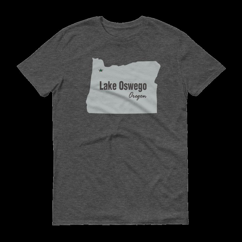 PDX Cities - T Shirt - Lake Oswego