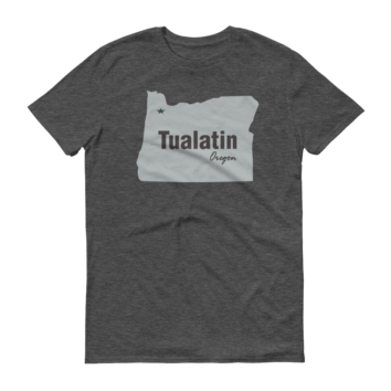 PDX Cities - T Shirt - Tualatin
