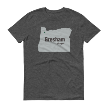 PDX Cities - T Shirt - Gresham