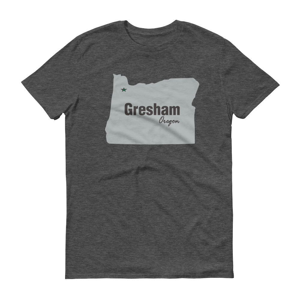 PDX Cities - T Shirt - Gresham