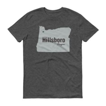 PDX Cities - T Shirt - Hillsboro