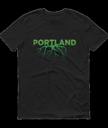 Portland Roots - T Shirt - Black
