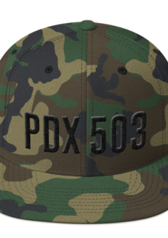 PD 503 - Black on Camo