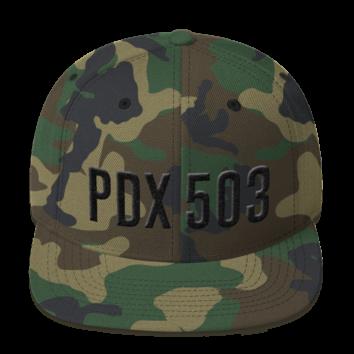 PD 503 - Black on Camo