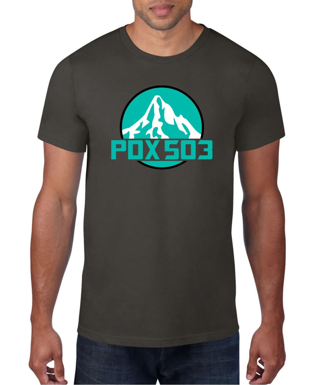 PDX 503 Mt Hood - T Shirt