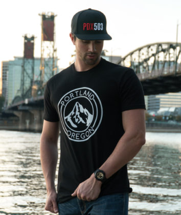 Portland Oregon Mt Hood - T Shirt