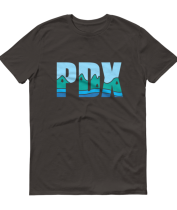 PDX Country - T Shirt - Grey