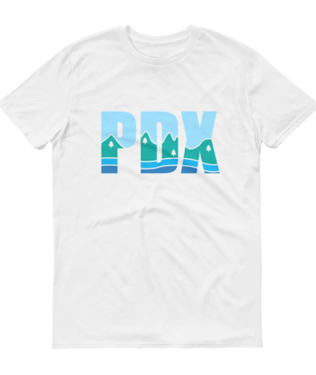 PDX Country - T Shirt - White