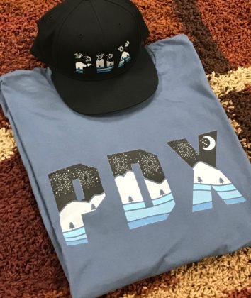 PDX Nights - Hat and T Shirt