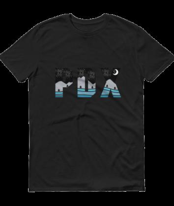 PDX Nights - T Shirt - Black