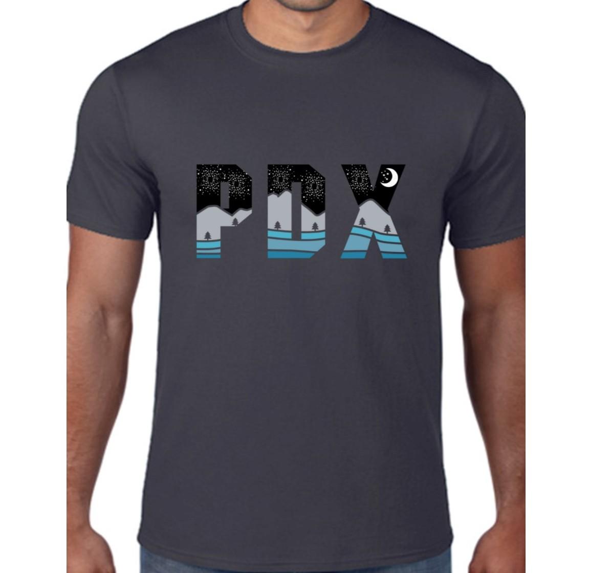 PDX Nights - T Shirt