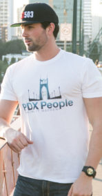 PDX People - St Johns Bridge T Shirt