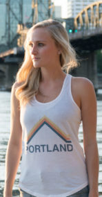 Women's Portland Shirttail Tank